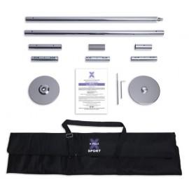X-Pole SPORT (XS) - Chrome 4cm