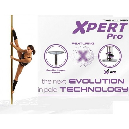 X-Pole XPERT (NX) - Cromada 4,5cm